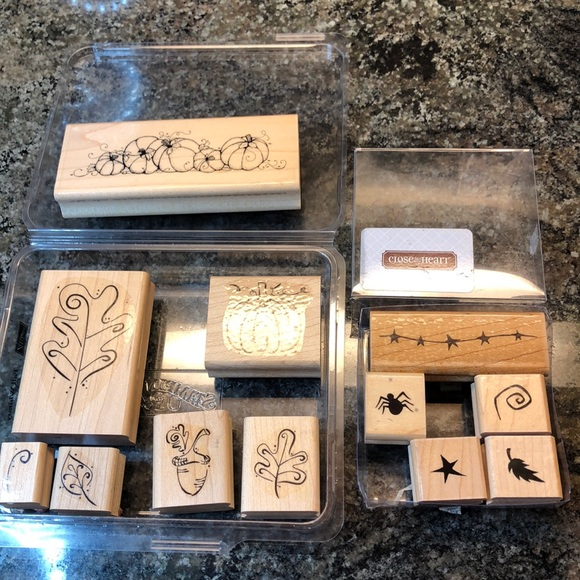 Stampin' Up Fall Whimsy & Close to my Hear…